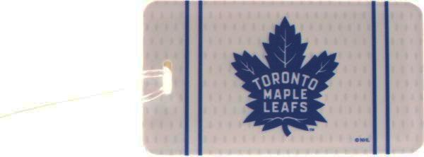 TORONTO MAPLE LEAFS NHL HOCKEY ( NEW ) LOGO LUGGAGE TAG