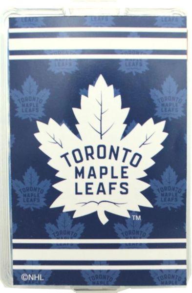 TORONTO MAPLE LEAFS NHL HOCKEY ( NEW ) LOGO PLAYING CARDS
