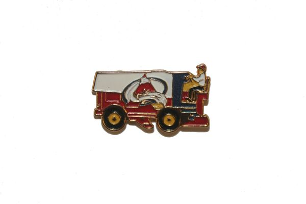 COLORADO AVALANCHE NHL ZAMBONI METAL LAPEL PIN BADGE .. NEW AND IN A PACKAGE