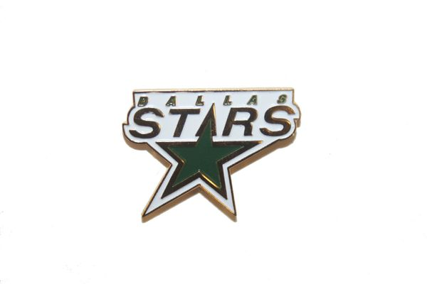 DALLAS STARS NHL LOGO METAL LAPEL PIN BADGE .. NEW AND IN A PACKAGE