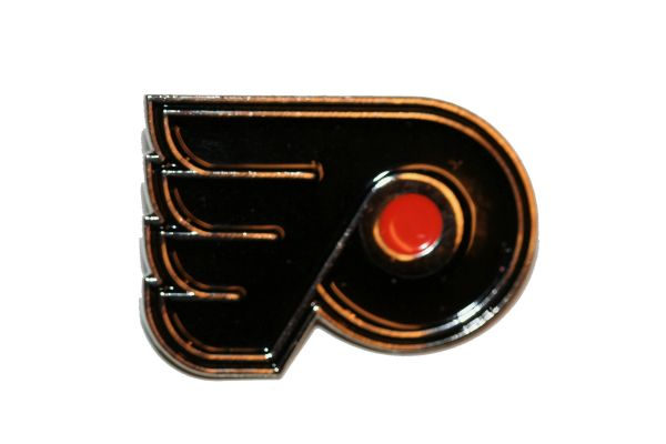 PHILADELPHIA FLYERS NHL LOGO METAL LAPEL PIN BADGE .. NEW AND IN A PACKAGE