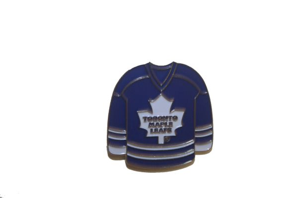TORONTO MAPLE LEAFS BLUE JERSEY NHL LOGO METAL LAPEL PIN BADGE .. NEW AND IN A PACKAGE