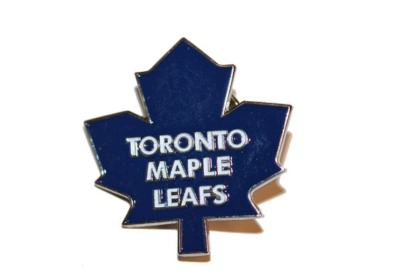 TORONTO MAPLE LEAFS NHL LOGO METAL LAPEL PIN BADGE .. NEW AND IN A PACKAGE