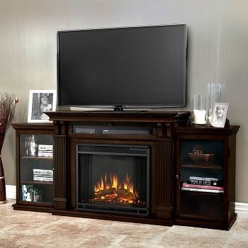 Real Flame Calie Entertainment Electric Fireplace