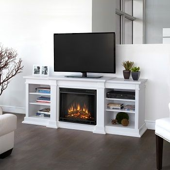 Real Flame Fresno Electric Entertainment Fireplace