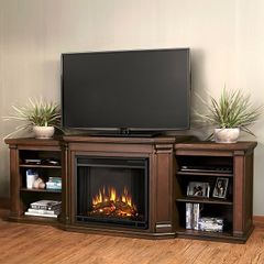 Real Flame Valmont Electric Entertainment Fireplace