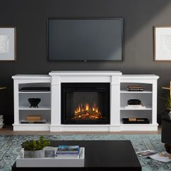 Real Flame Hawthorne Electric Entertainment Fireplace