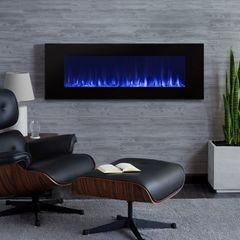Real Flame DiNatale Wall-Hung Electric Fireplace