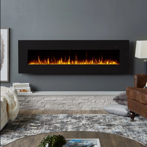 "Real Flame Corretto 72"" Electric Fireplace"