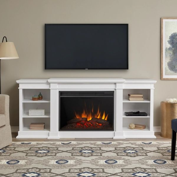 Real Flame Eliot Grand Entertainment Electric Fireplace