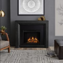 Real Flame Hughes Electric Fireplace