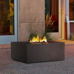 Real Flame Baltic Square Propane Fire Table (Ships Truck Call for Rates)