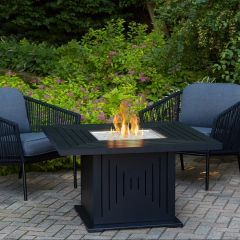 Real Flame Cavalier Fire Table with NG Conversion Kit (closeout item, qty is limited) (Ships Truck Call for Rates)