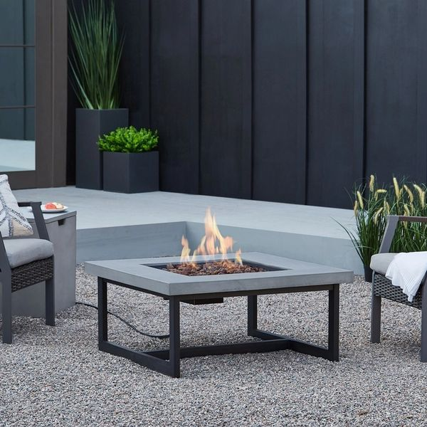 Real Flame Brenner LP Fire table w/NG Conversion kit (Ships Truck Call for Rates)
