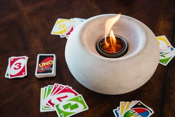 Stone Fire Bowl
