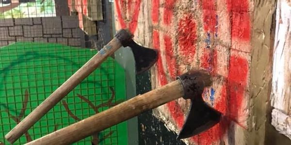 Axe throwing @ Huddersfields Axe throwing centre