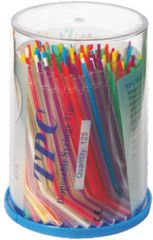 Disposable Air/Water Syringe Tips, Color, Plastic Core, 250ct