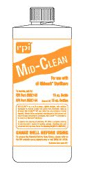Mid-Clean, Midmark Speed Clean Substitute, Sterilizer Cleaning Solution, Case of 12