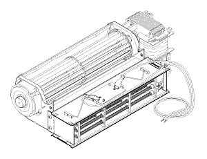 Heater & Fan Assembly, AT2000, AT2000 Plus, & AT2000XR
