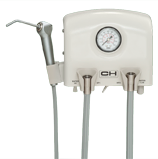 Asepsis Control Unit, 2 Handpiece Manual Control, with Air/Water Syringe