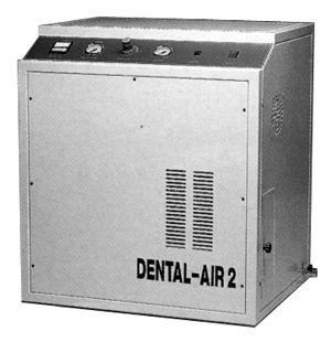 DA Oilless Compressor, 3/4 H.P. 110V with Cabinet