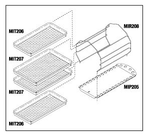 Rack and Tray Kit, Midmark M9