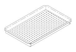 Large Instrument Tray, to fit Midmark M9