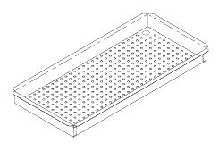 Small Instrument Tray, to fit Midmark M11