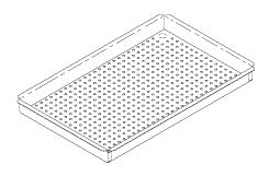 Large Instrument Tray, to fit Midmark M11