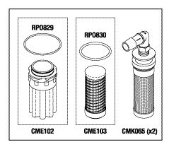 Filter Kit, to fit Air Techniques Air Star 2-1, 2-2, 3, 21, 22, & 30