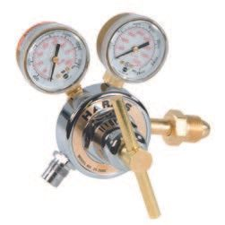 Nitrogen Regulator, 2 Gauge, Adjustable