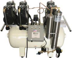 EAGLE Oiless Dental Air Compressor, Super Quiet, 1-6 User