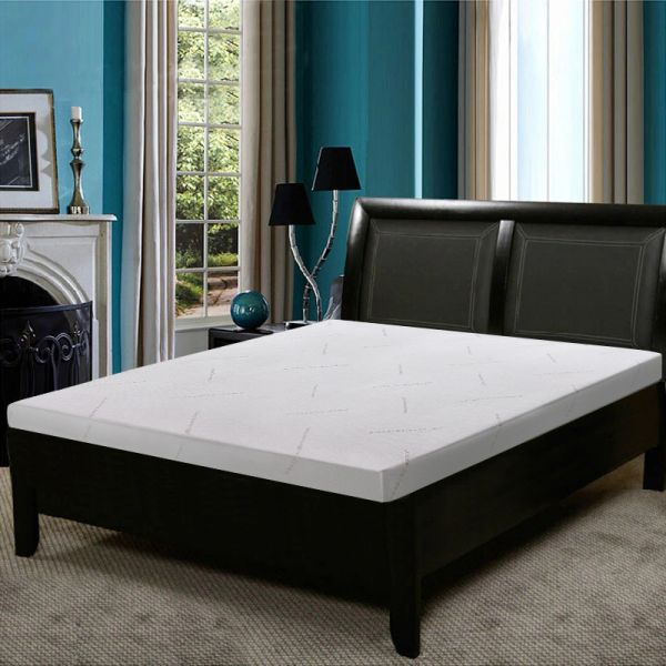 Sleep Science Mattress >> Sleep Science High Absorption And Evironmental Protection Black Diamond Bamboo Charcoal Memory Foam Spine Protection Topper Of Queen Size 10cm