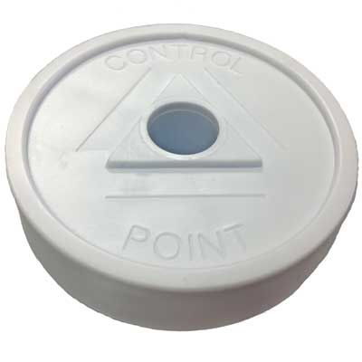 "White ""Control Point"" RingGuard MAXXcaps *4 Pack*"