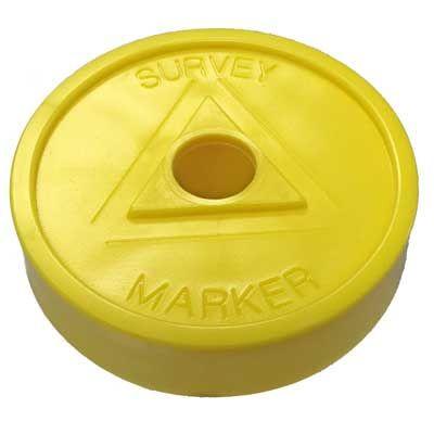 "Yellow ""Survey Marker"" RingGuard MAXXcaps *35 Pack*"