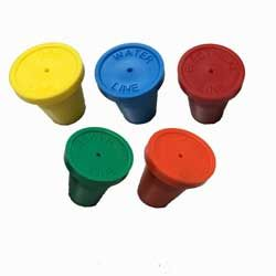 "Construction Pack of 20 1/2"" RingGuard Caps"