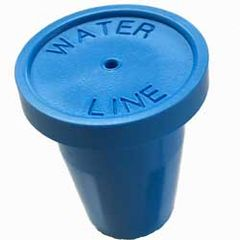 "Blue Water Line Pack of 20 1/2"" RingGuard Caps"