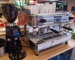 BFC - Monza 2 Group Espresso Machine w/ Fiorenzato Automatic Espresso Grinder