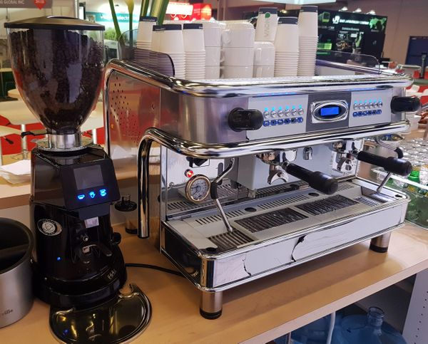 BFC - Monza 2 Group Espresso Machine DEMO MODEL