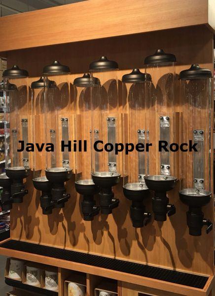 LOT of Quantity 8 Coffee Bean Silos (NEW) - Copper Rock Powder Coat (UPGRADES INCLUDED)