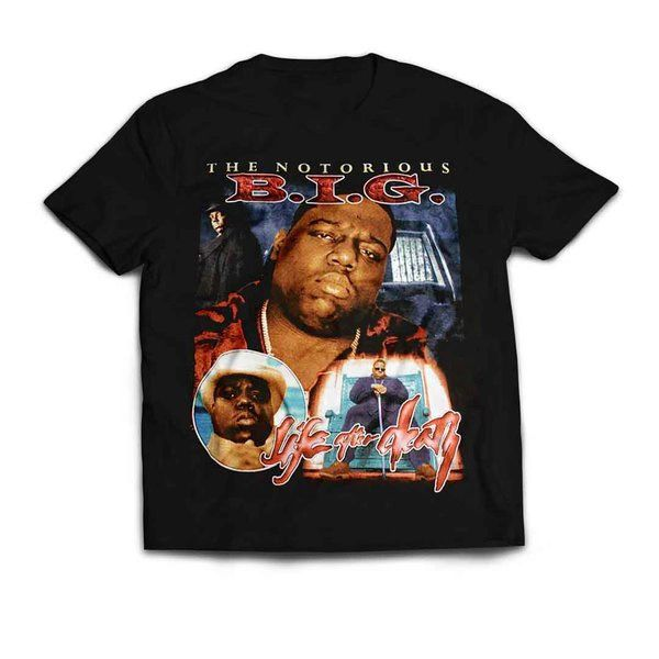 Vintage Style Notorious B.I.G. Life After Death Toddler / Youth Rap T-shirt