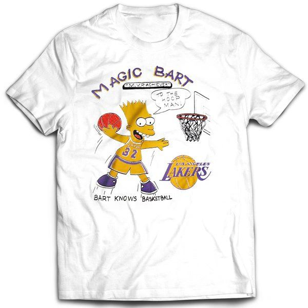 Vintage Style Bootleg Bart Magic Bart T-shirt