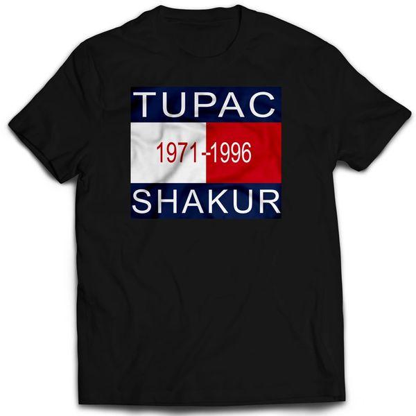 Vintage Style 2Pac Hilfiger Rap T-shirt