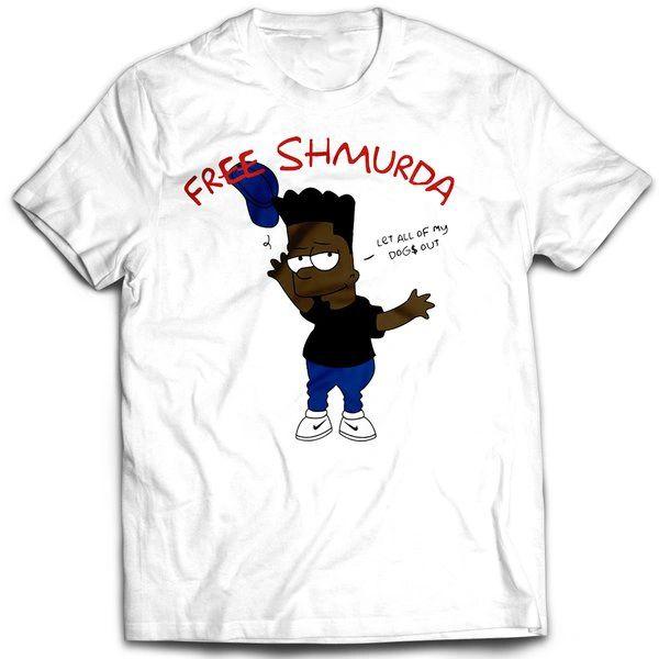 Vintage Style Bootleg Bart Free Shmurda T-shirt