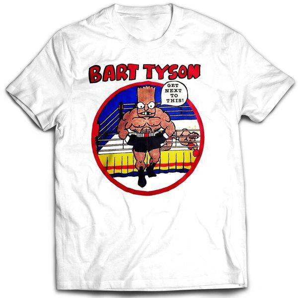 Vintage Style Bootleg Bart Tyson T-shirt