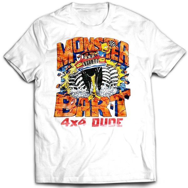 Vintage Style Bootleg Bart 4x4 Monster Bart T-shirt