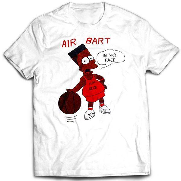 Vintage Style Bootleg Bart Air 23 T-shirt