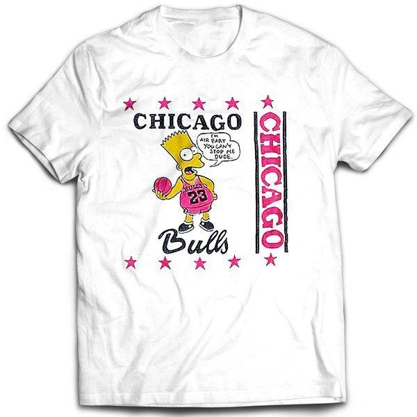 Vintage Style Bootleg Bart Bulls Fan Bart T-shirt