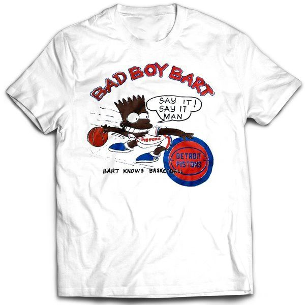 Vintage Style Bootleg Bart Bad Boy Bart T-shirt