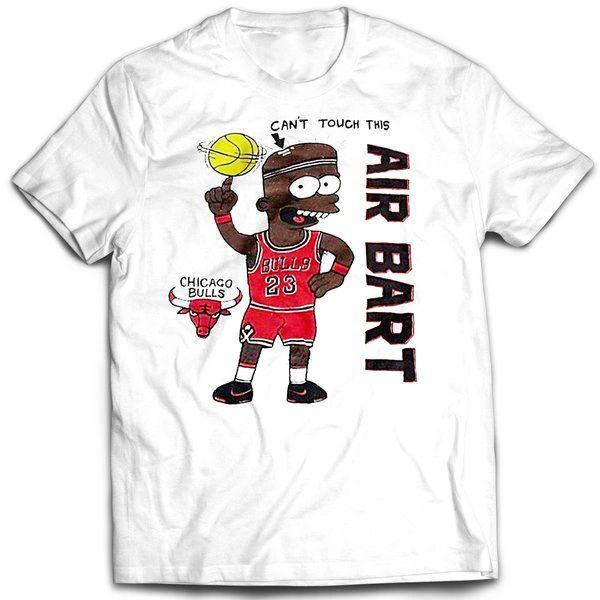 Vintage Style Bootleg Bart Air Bart T-shirt